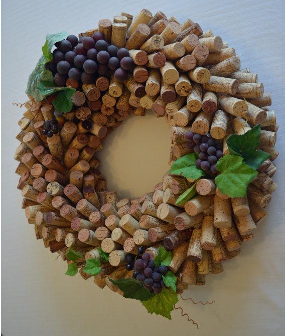 Cork Wreath Making